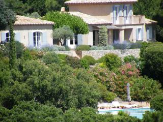 Villa Cavalaire vacation holiday large villa rental france, southern france, riviera, cote dazur, pool, air conditioning, near st. trope, Saint-Tropez