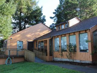 Ocean view & dog-friendly home w/wheelchair access and fenced yard