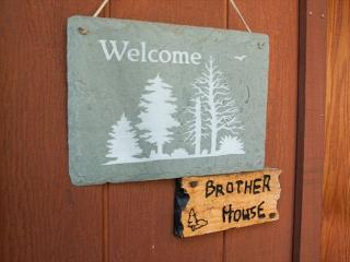 Brother House is the perfect getaway. 4 bedrooms, loft, 3.5 baths.  Sleeps 8.