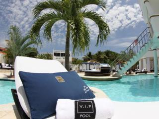 VIP treatment at the Pool