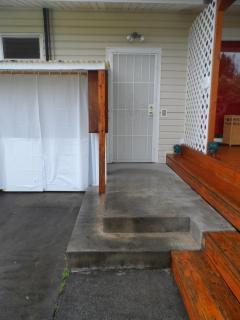 Steps to Studio Door