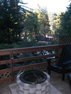 Main Deck with Fire Pit