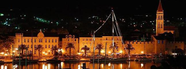 Trogir by night