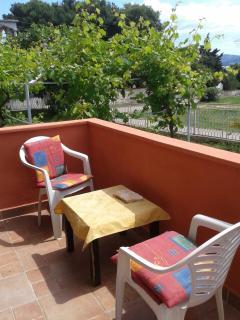 Seaview balcony