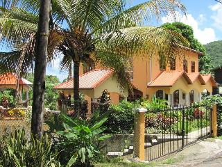 2 Minute Walk to Water, Hibiscus Apartment In Beautiful Marigot Bay