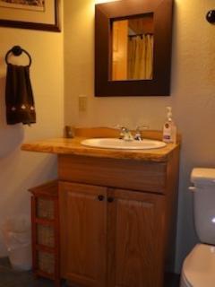 Full Bath on the 1st Floor - Bathtub with Shower