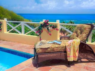 Romantic Caribbean Cottage with Own Private Pool and Gorgeous Sea Vew