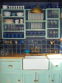 Hand finished kitchen units