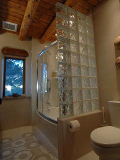 First Floor Bath - Glass Enclosed Shower