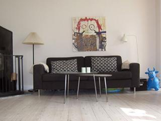 Bright Copenhagen villa apartment at Valby, Copenhague