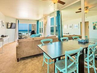 Enjoy ocean and sunset views from the Dining  area with seating for 6.