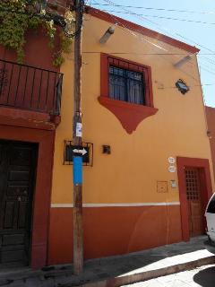 Exterior of the building, Ánimas #8