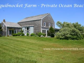 HORNP - Squibnocket Farm Waterfront, Private Beach,, Chilmark