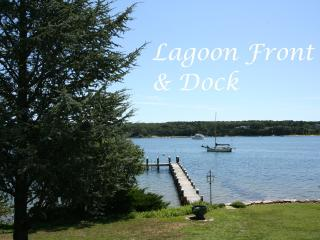 SYLVM - Waterfront, Private Dock, Large Private Yard, WiFi, Central A/C, Vineyard Haven