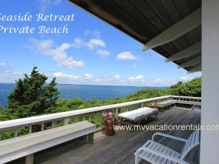 NAGIP - Split Rock House - Waterfront Makonikey, Private Association Beach, Tennis Court, WiFi, West Tisbury