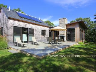MILLD - Green Home, Private Location, Short Drive to Gorgeous West Tisbury Beach