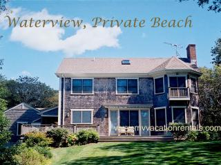 SUTUM - Lambert's Cove, waterview, walk to private association beach, WiFi, Vineyard Haven