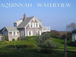WEINS - Exquiste, Pristine Hilltop Restored Farm House with Distant Waterviews. Set on Large Private Acreage, Aquinnah