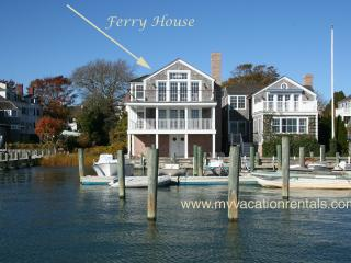 THARF - The Ferry House, Luxury In Town Harborfront Home, Edgartown