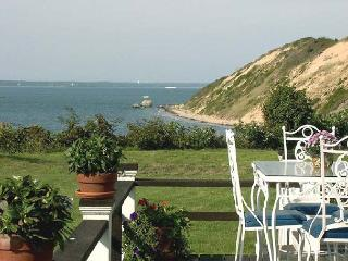 ROCKT - Waterfront, Private Beach Frontage, Large Yard to Ocean's Edge, World Class Views, West Tisbury
