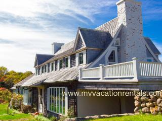 FULEC - Seven Gates, Extraordinary Ocean Front Home, One of a Kind Location, 2 Miles of Private Association Beach, Tennis, Walking Trails, West Tisbury