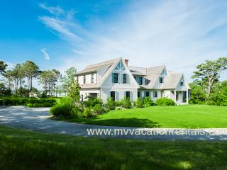 MORAA - Designer Luxury Home Overlooking Farm Neck Golf Course, Waterviews, Central A/C, WiFi,  Short Bike Ride to State Beach or Oak Bluffs Town Center.