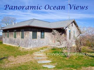 TIERD - Light House Rd Contemporary Retreat with Spectacular Unobstructed Waterviews over the North Shore. Sunsets, Gorgeous Aquinnah Beaches