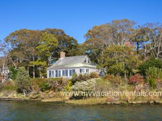 KERR3 - Waterfront on the Shores of a Picturesque Tidal Inlet Lake Tashmoo,  Shared Tennis Courts, Spectacular Views and  Sunsets,, Vineyard Haven