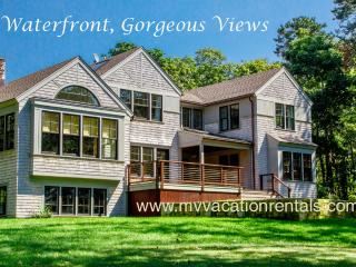 VOORT - Gorgeous Tashmoo Waterfront, Panoramic Views, Architect Designed Home, Vineyard Haven