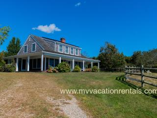 LORUJ - Spacious Ocean View Home,  Private Association Beach - South Shore, Chilmark