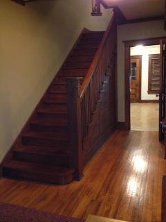 Open staircase