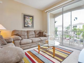 Comfortable Family Room with HD Television and Extended Basic Cable Service.