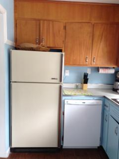 New Dishwasher (fridge has been replaced since photo)
