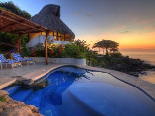 2 bedroom oceanfront villa in magical location