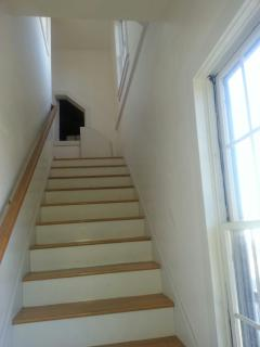 Staircase to unit
