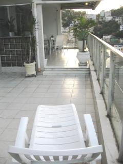 View from terrace to veranda