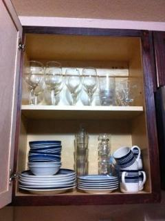 Glases and dinerware