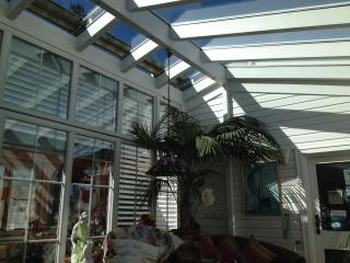 Unique winter garden retreat for ultimate reflection and relaxation.