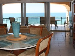 Dining Area with View of Balcony