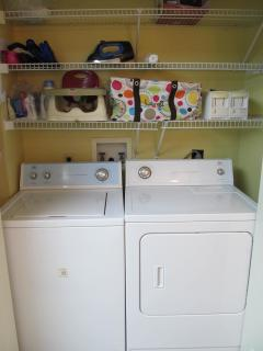 Full Sized Washer & Dryer - Booster High Chair, Iron & Ironing Board