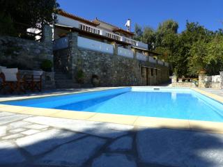 Luxurious villa Selini above Skopelos Town seaview
