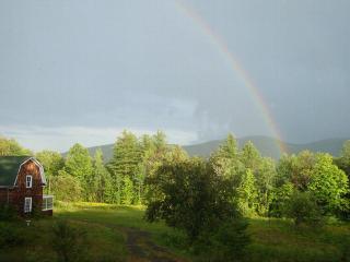 Rainbow over Bird Camp