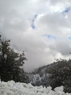 Winter on the mountains