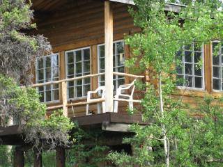 Wilderness Log Cabin Rental Kluane National Park