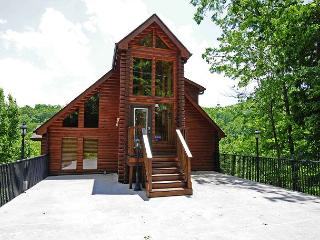 2 Bedroom Log Mountain View, Gatlinburg