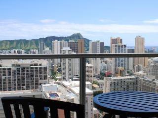March Madness Rate! Waikiki Island Colony with Diamond Head View