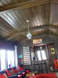 Original Craftman style apartment - wood panelling