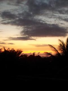 SunSet seen from the house