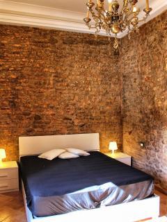 Your master bedroom with prestigious chandelier