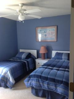 3rd bedroom 2 twin beds